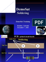 DemoSat Soldering