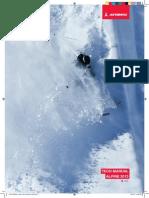 Manual ski Atomic 2013