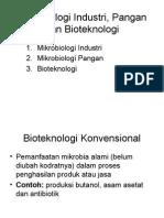 Mikrobiologi Industri