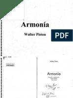 Armonía - Walter Piston