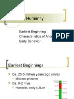 Origins of Humanity