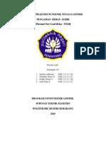 Laporan Praktikum TOLR Teknik Tenaga Listrik