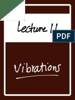 Vibrations Session 11