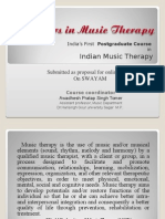 Masters in Music Therapy Online