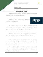 Company Profile Report Chevolet