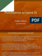 Pszihiatriai terapiak