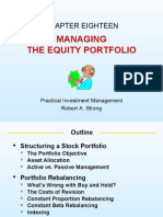 Practical Investment Management by Robert.A.Strong slides ch18