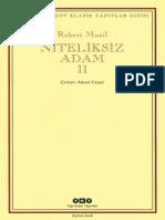 Robert Musil - Niteliksiz Adam 2 -YKKT.pdf
