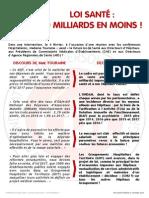 LOI SANTÉ - TOUS À PARIS LE 9 AVRIL 2015 !