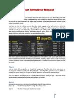 Airport Simulator Manual