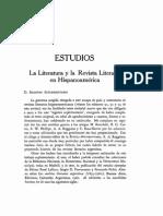 La Literatura y La Revista Literaria en Hispanoamérica