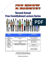 Constitution Lecture Series 2015