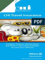 Gallipoli Cruise 2015 Travel Insurance