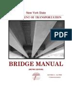 Nysdot bridge manual | prestressed concrete | deep foundation.