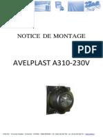 (235317816) Notice Montage AVELPLAST IAM 333