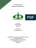 BronkoPneumoni Case