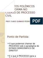 Aspectos Polêmicos Da Reforma No Código de Processo Civil