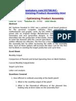 AIC Netbooks Optimizing Product Assembly