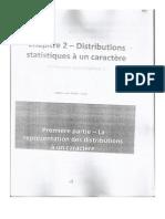 Distributions Statistiques à un caractère Partie 1