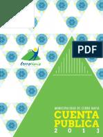 Cuenta Publica 2014 Período 2013 Final