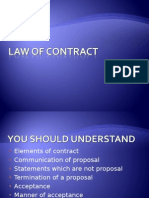 1 Law of Contract Lesson 1