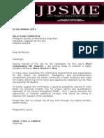 Endorsement Letter Rey
