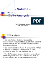 6. CVP Analysis