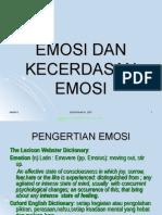 Emosi Dan Kecerdasan Emosi