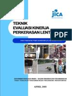Teknik Evaluasi Kinerja Perkerasan Lentur - Volume 2