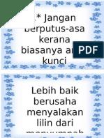 Mutiara Kata 12345