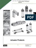 PND1000-3 Rotary Actuators