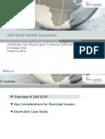 ZAR Bond Market Discussion - Absa Capital