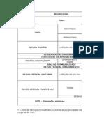 Tabela a Partir Do Plano Diretor (Zona ZSI)