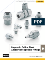 Diagnostic Orifice Bleed Adapters & Specialty Fitt