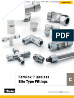 Ferulok Flareless Bite Type Fittings