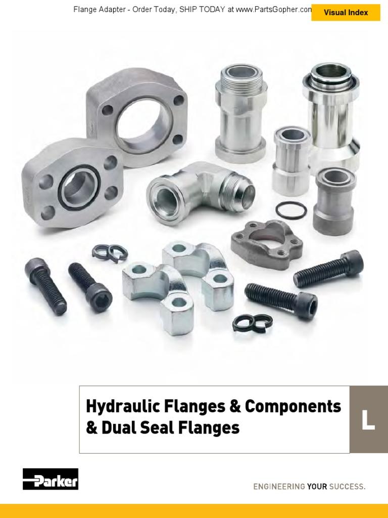Parker HFHFHK-20 SAE Code 62 Flange Kit 1-1//4 Inch