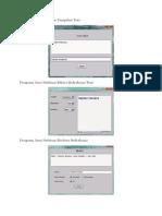 Program Java Netbean Tampilan Text.docx