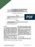 Avance de La Interpretacion Geotectonica Del Emplazamiento Del Pluton Granítico de Madridejos (Toledo) Basadas en Determinaciones Gravimétricas