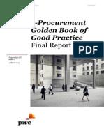 e Procurement Golden Book of Good Practice En