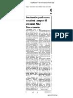ATT - Vinita Daily Journal - Capex