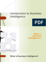 01-Introduction to BI