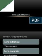 Forțele ortodontice