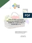 Efecto de Altas Presiones Hidrostatica
