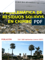Problematica en Residuos Sólidos- Chimbote