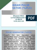 Program Pulse Generator (%Pls)
