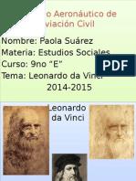 Leonardo Da Vinci Diapositivas