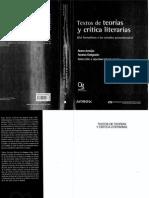 Araújo, Nara. Límites, Fronteras y Horizontes de Las Teorías y La Crítica Literarias en El Siglo XX