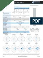 Amphenol - CTBW65806580M - Specifications Sheet