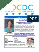 April 2015 SOCDC Newsletter
