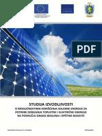 Studija Solarna Energija